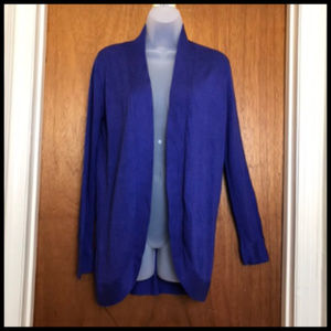 Navy Blue Long Light Weight Open Cardigan